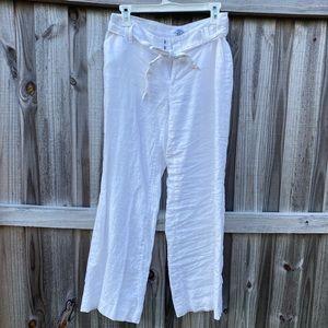 Calvin Klein Linen Pants 4